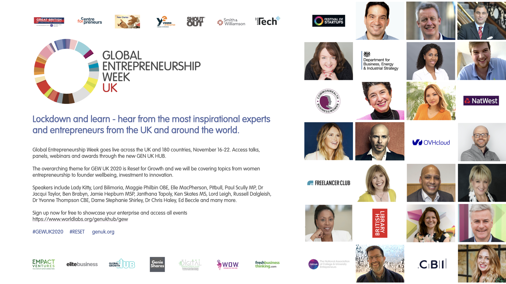 Announcing GEW UK 2020