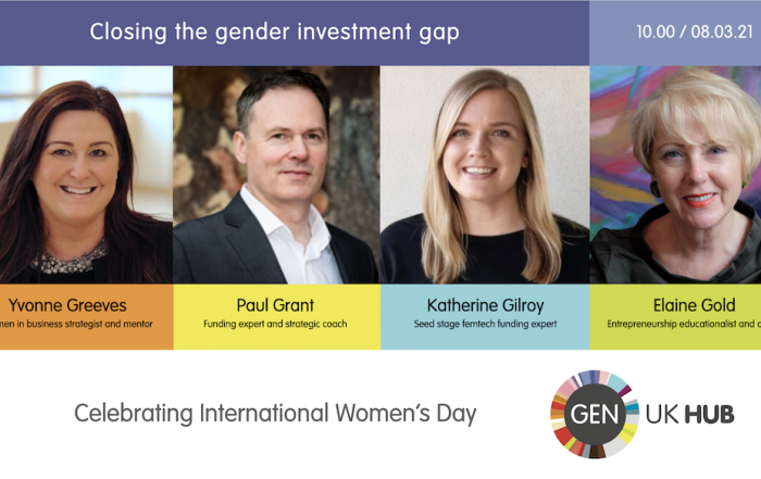 speakers for Closing the Gender Investment Gap session